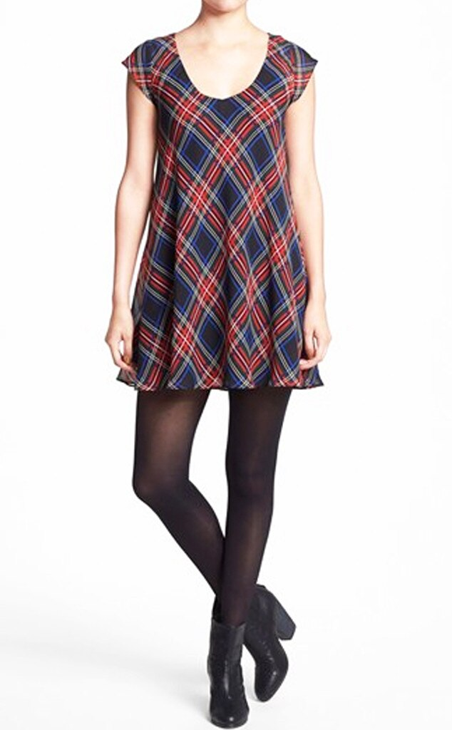 Plaid Products, Tartan Scoop Neck Dress