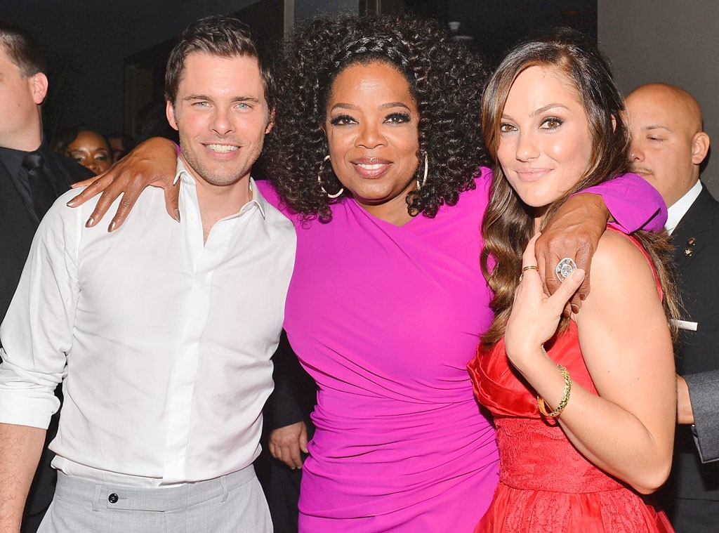 James Mardsen, Oprah Winfrey, Minka Kelly