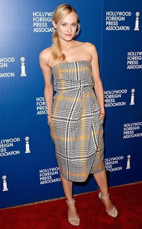Diane Kruger, HFPA Luncheon