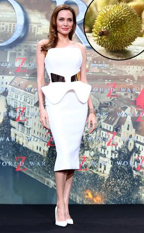 Angelina Jolie, Durian Fruit