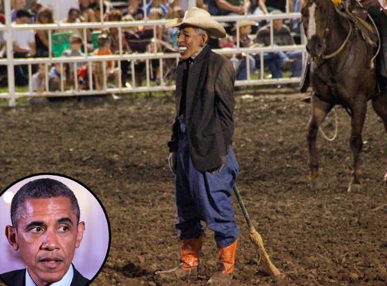 Missouri State Fair, President Obama Mask