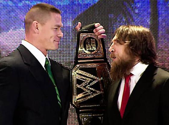 John Cena, Daniel Bryan, WWE