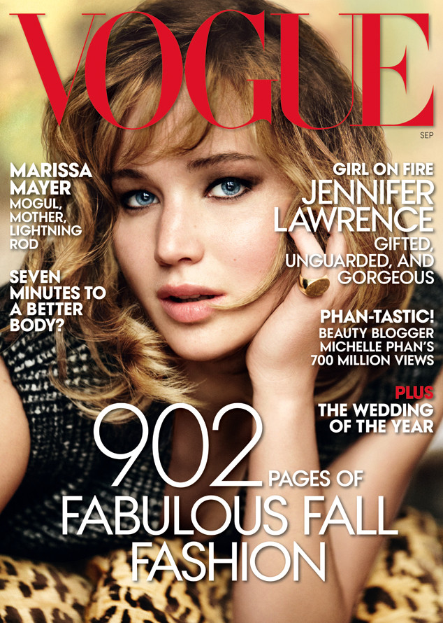 Jennifer Lawrence, VOGUE