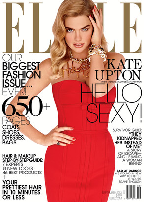 Kate Upton, ELLE September