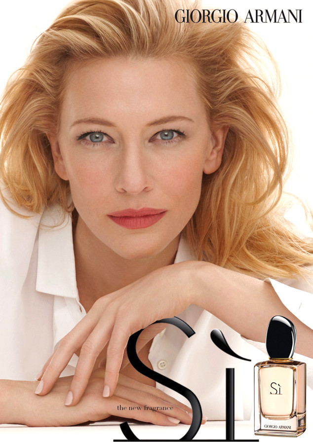 Cate Blanchett Defies Age In Giorgio Armani Fragrance Adsee The