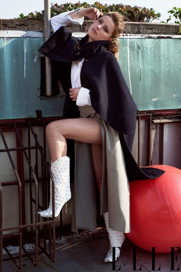 Amber Heard, ELLE September