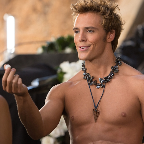 Sam Claflin from Hunger Games: Catching Fire Movie Pics ...