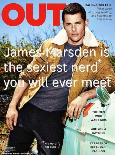James Marsden, OUT Magazine