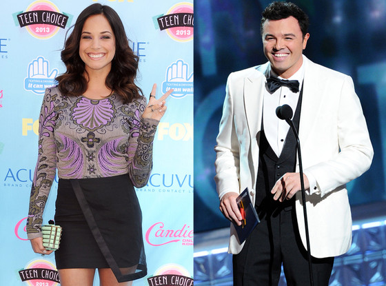 New Couple Alert Seth Macfarlane Dating Pitch Perfect Actress