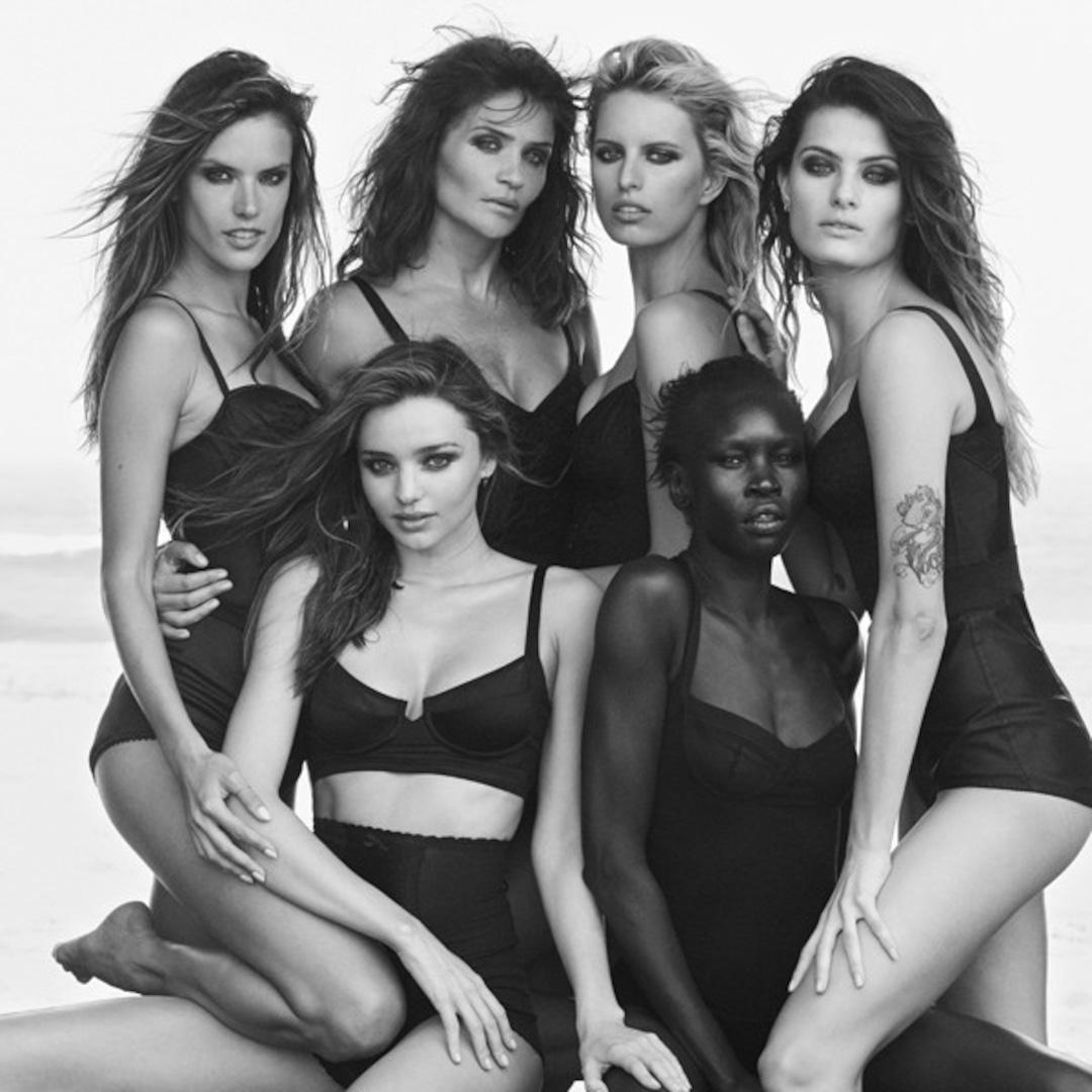 Miranda Kerr, Alessandra Ambrosio and More Supermodels Go