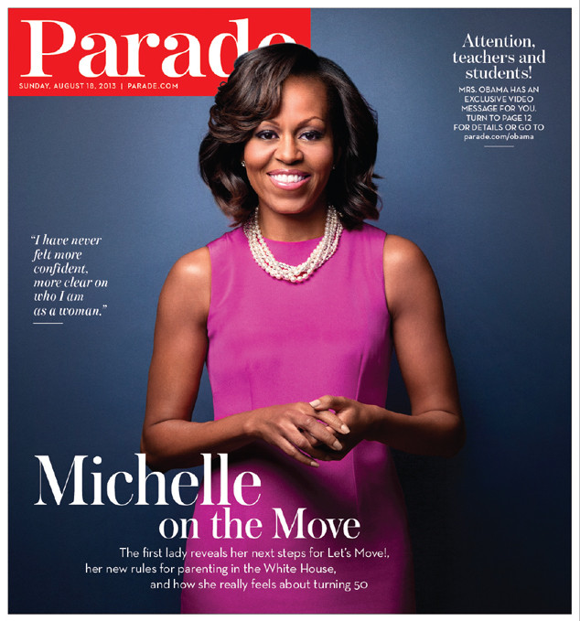 Michelle Obama, Parade Magazine