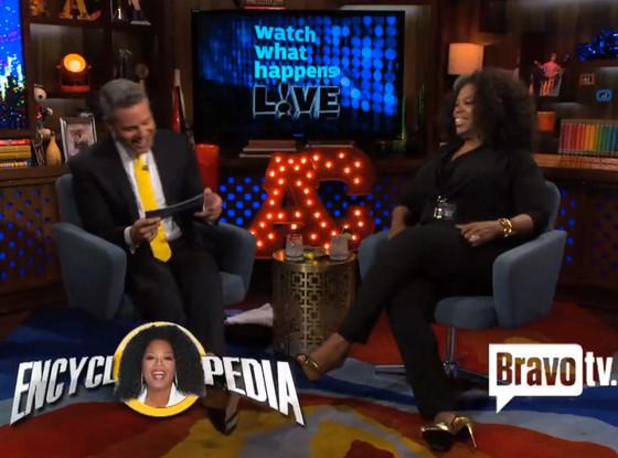 Oprah, Andy Cohen