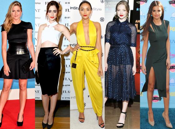 Jennifer Aniston, Amanda Seyfried, Ashley Madekwe, Amanda Seyfried, Selena Gomez