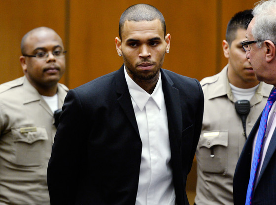 Chris Brown, Court