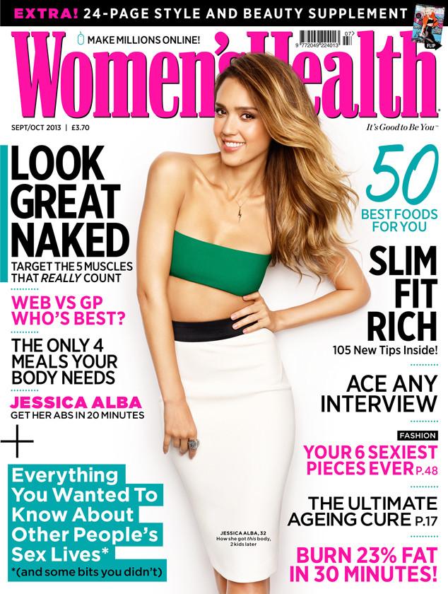 Jessica Alba, Women's Health UK