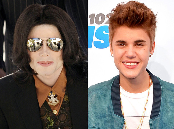 Michael Jackson, Justin Bieber