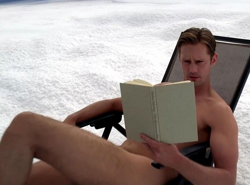Alexander Skarsgard, True Blood, Naked