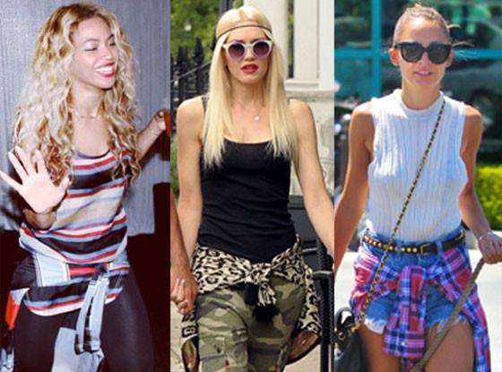 Gwen Stefani, Beyonce, Nicole Richie