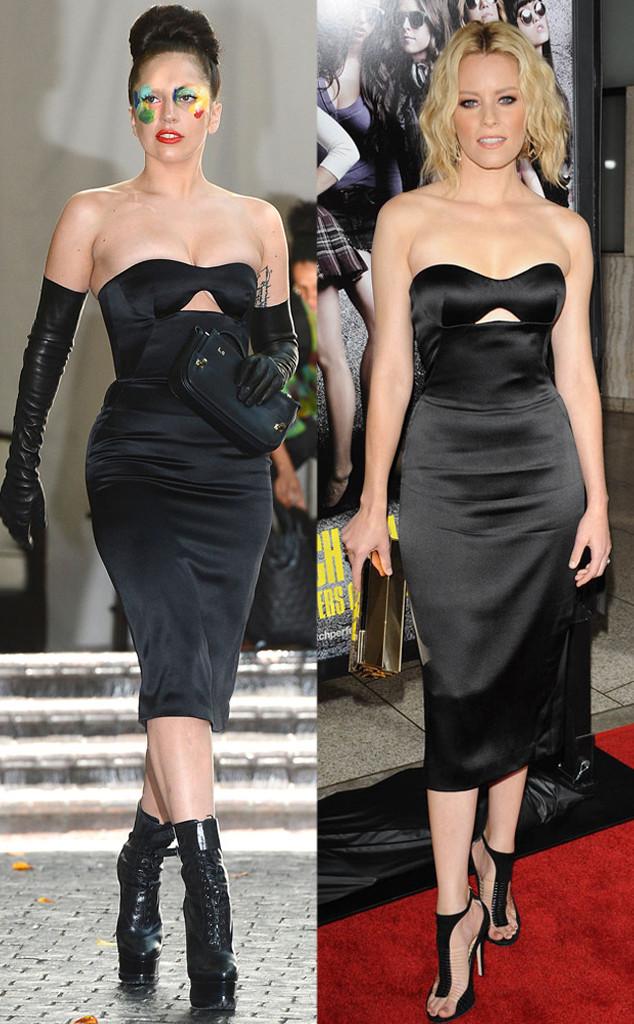 Lady Gaga, Elizabeth Banks