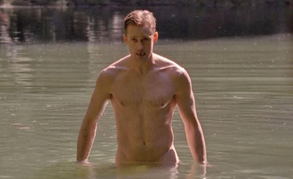 Alexander Skarsgard, True Blood, Shirtless