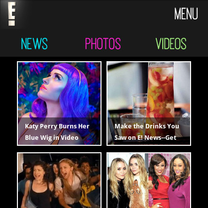 Mobile: Web Screenshot