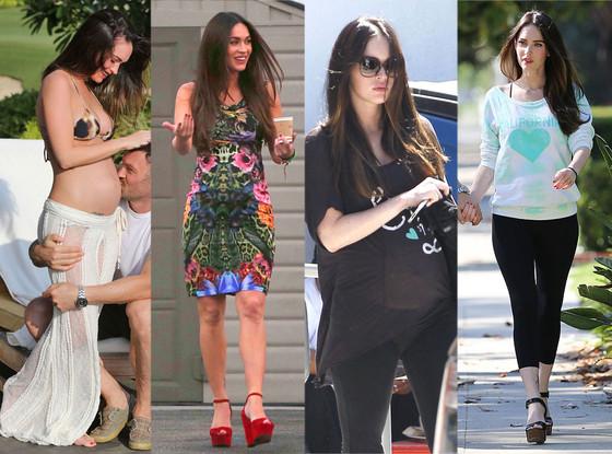 Megan Fox, Maternity Looks