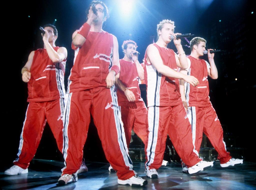 Justin Timberlake, JC Chasez, Chris Kirkpatrick, Joey Fatone, Lance Bass, Nysnc Fashion Gallery