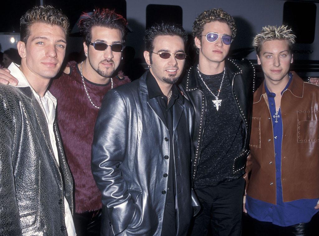 NSYNC, Justin Timberlake, JC Chasez, Chris Kirkpatrick, Joey Fatone, Lance Bass, Celeb Crushes