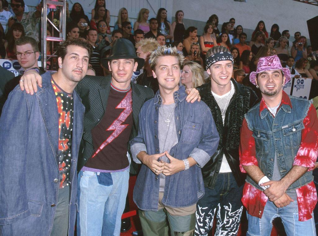NSYNC, Justin Timberlake, JC Chasez, Chris Kirkpatrick, Joey Fatone, Lance Bass, 2000