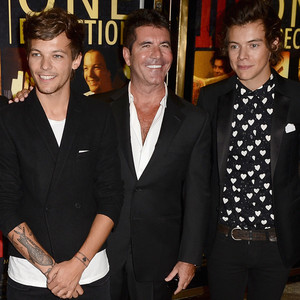 Niall Horan, Zayn Malik, Louis Tomlinson, Simon Cowell, Harry Styles, Liam Payne, One Direction