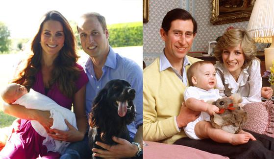 Duchess Catherine, Kate Middleton, Prince George, Prince Charles, Princess Diana, Prince William