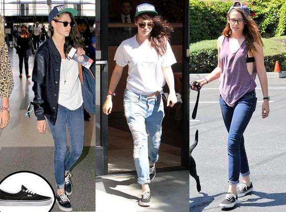 Kristen Stewart, Vans Shoes