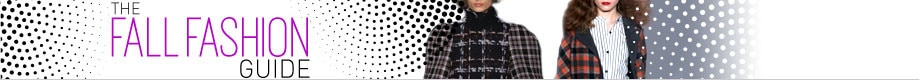 Fall Fashion Guide 2013 Header