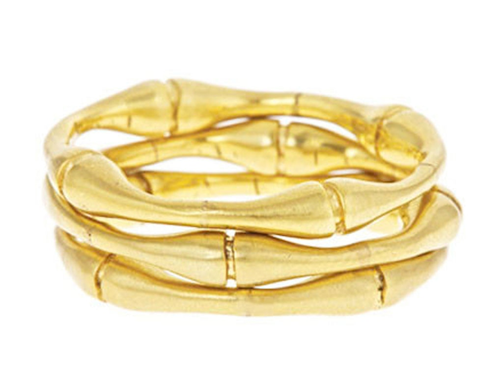 Military Trend, Bamboo Stacked Rings