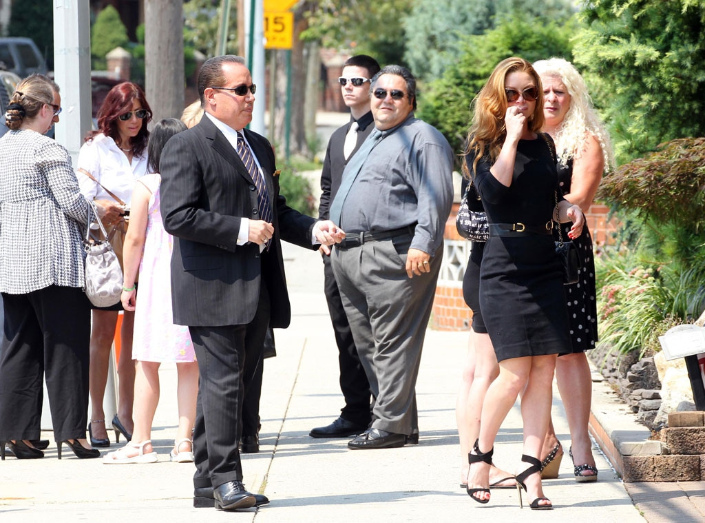 Gia Allemand, Funeral