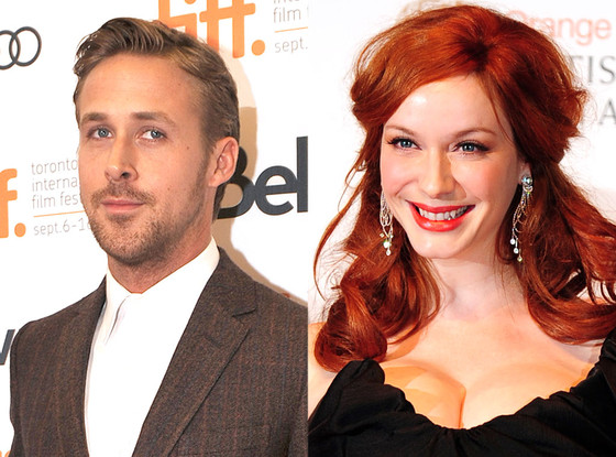 Ryan Gosling, Christina Hendricks