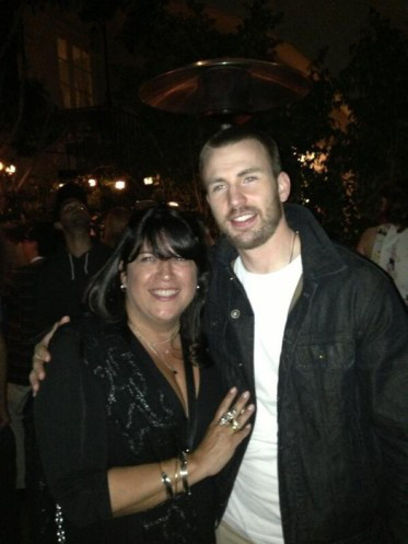 Chris Evans, E.L.James