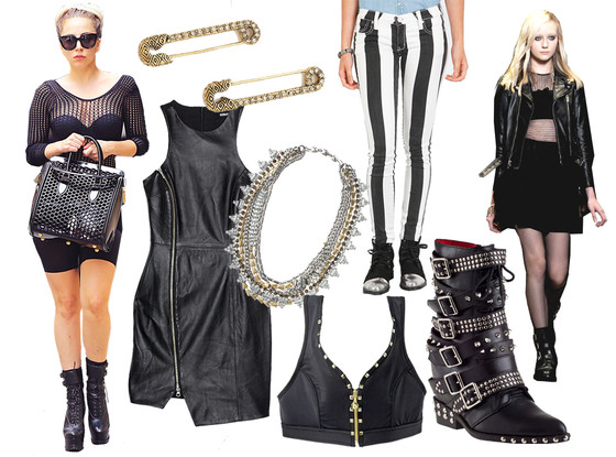 How to Rock Fall's Punk Trend: Studded Ankle Boots, Edgy ...