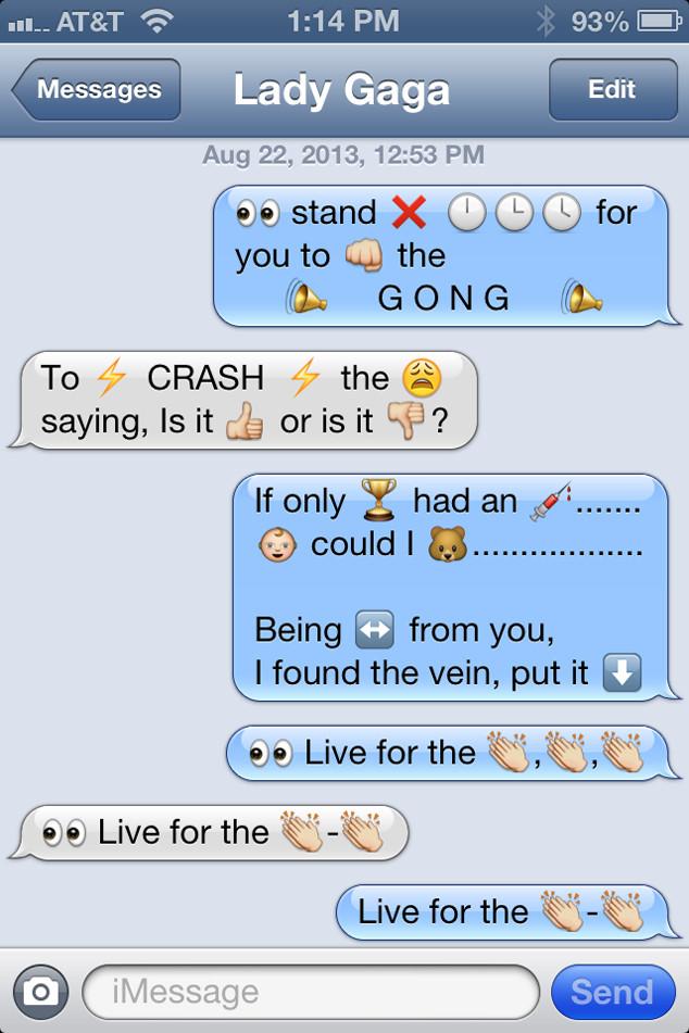 Lady Gaga, Emoji