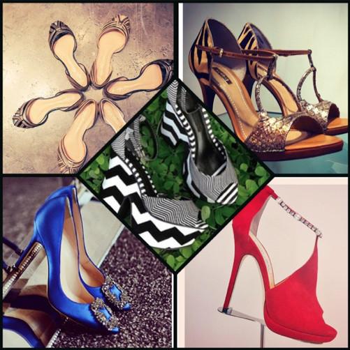 Sapatos Instagram