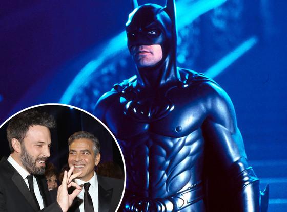 Batman and Robin, George Clooney, Ben Affleck