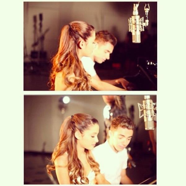 Ariana dating Nathan Sykes