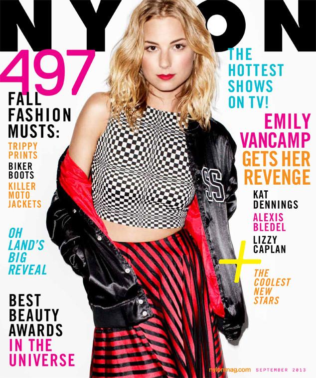 Emily VanCamp, Nylon Magazine