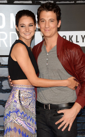 MTV Video Music Awards, Shailene Woodley, Miles Teller