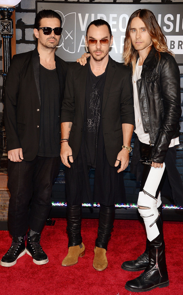 MTV Video Music Awards, Tomo Milicevic, Shannon Leto, Jared Leto, Thirty Seconds to Mars