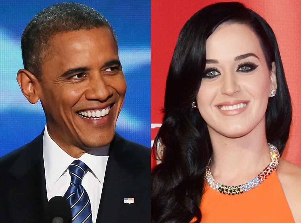 Katy Perry, Barack Obama