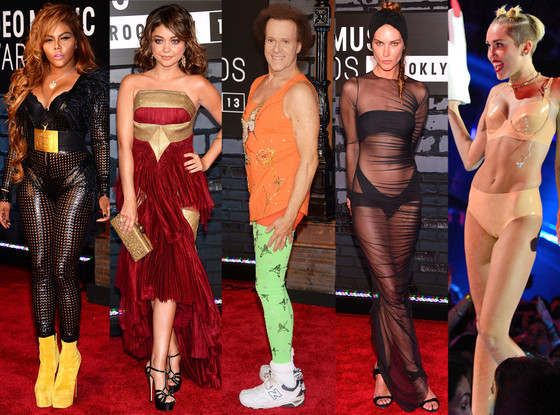MTV VMA Awards 2013, Worst Dressed