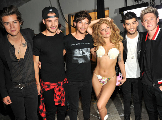 Lady Gaga, One Direction, VMA's