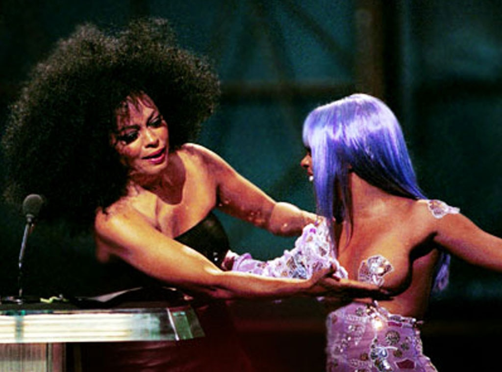Lil Kim, Diana Ross, MTV Video Music Awards, VMA