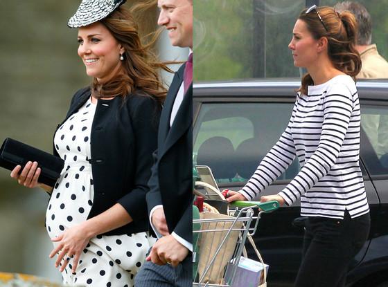 Kate Middleton, antes e depois